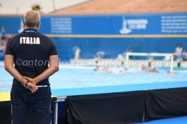 Sandro Campagna - Photo ©Antonella Mannara Valentino Gallo - Settebello- European Waterpolo Championships Barcelona 2018