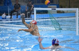 Gianmarco Nicosia - Photo ©Antonella Mannara Valentino Gallo - Settebello- European Waterpolo Championships Barcelona 2018