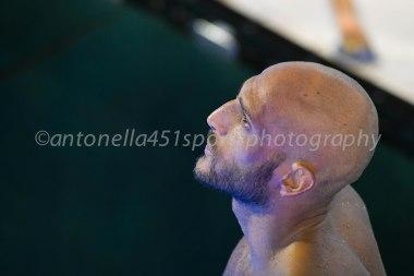 Photo ©Antonella Mannara Valentino Gallo - Settebello- European Waterpolo Championships Barcelona 2018
